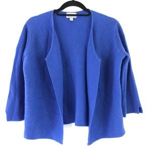 Pure Collection Cashmere Open front Cardigan